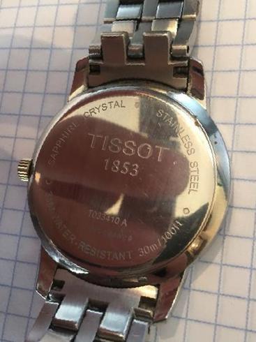 Tissot часы 1853 t 33410 стоимость