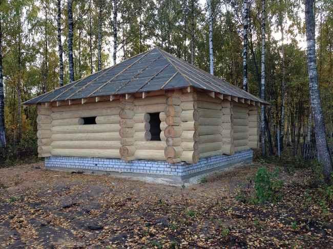 деревянных домов ведется в Московской