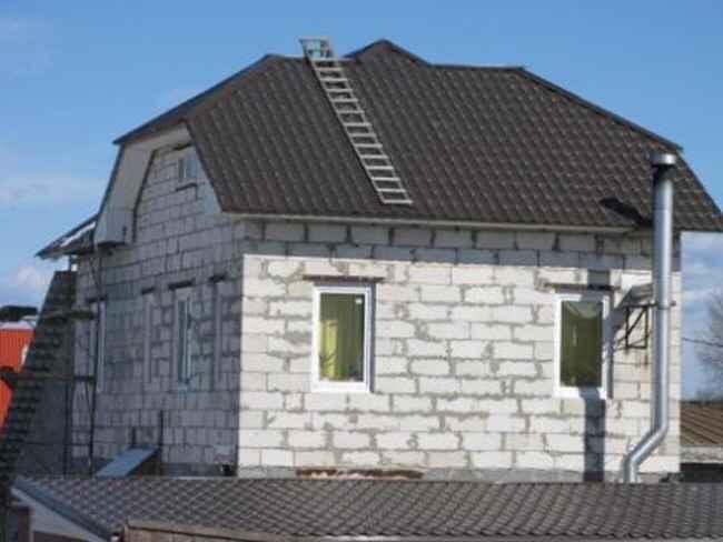 Фото (часть 2) дома, домов из газобетона, газобетонных блоков, газоблоков, автоклавной обработки, автоклавного