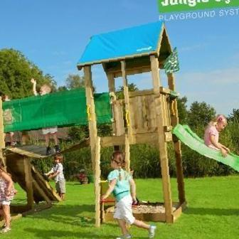 Фото: Игровой комплекс Jungle Gym Jungle Castle + Bridge, Курган